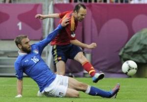 Испания vs Италия - 1:1. Текстовая трансляция