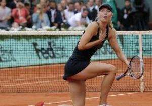 Фотогалерея: Блондинка в шоколаде. Мария Шарапова - триумфатор Roland Garros