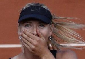 Шарапова вирвала епохальну перемогу у фіналі Roland Garros
