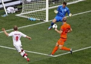 Нидерланды-Дания - 0:1. Live