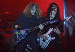 У Хорватії рок-групу Megadeth закидали камінням під час концерту