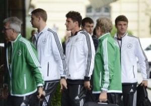 Сборные Германии и Португалии прибыли во Львов