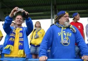Шведские фаны пройдут маршем по Киеву