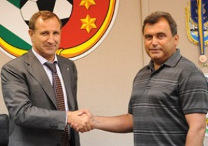 Ворскла официально назначила нового главного тренера