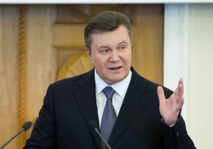 Янукович прогнозує зростання обсягів інвестицій в українську економіку
