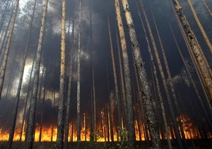 У Росії в лісовій пожежі загинули дев ять десантників