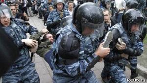 Держдума Росії суттєво підвищила штрафи за порушення на мітингах
