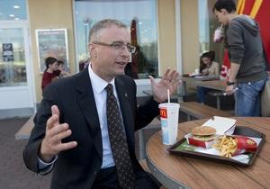 Корреспондент: Кушать продано. Интервью с вице-президентом восточно-европейского дивизиона McDonald's Яном Борденом