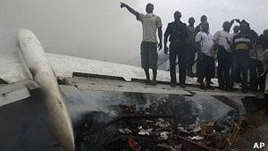 Авіакатастрофа у Лагосі: у Нігерії почалась триденна жалоба