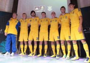 Исследование: Форма сборной Украины - одна из самых качественных на Евро-2012, у сборной Англии - самая плохая