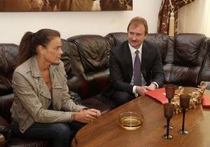 Попов зустрівся із принцесою Монако