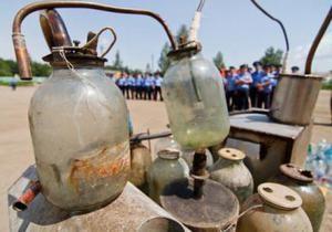 У Житомирі міліція знищила 500 самогонних апаратів
