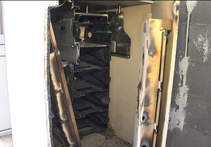 У Київській області зламали стінку банкомата і викрали 89 тисяч гривень