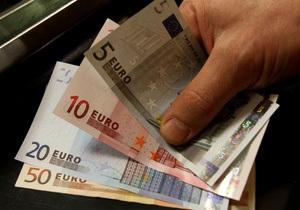 Курс євро в Україні впав до рівня 10-ти гривень