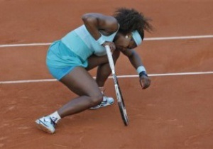 Американская трагедия. Серена Уильямс проиграла 111-й ракетке мира в первом круге Roland Garros