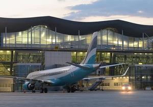 Новый терминал аэропорта Борисполь принял первый рейс