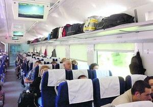 Перший поїзд Hyundai прибув з Києва до Харкова із запізненням на 20 хвилин