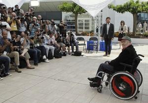 Бертолуччі приїхав до Канн в інвалідному візку: Я зрозумів, що кіно можна знімати і сидячи