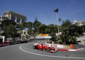 Гран-при Монако: Алонсо стал лучшим по итогам первой практики