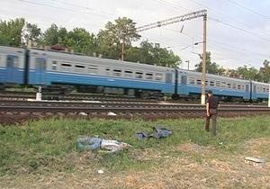 У Києві потяг збив на смерть людину
