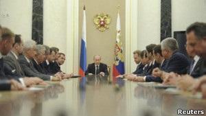 Путін затвердив склад нового уряду Росії