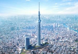 У Токіо для відвідувачів відкривається найвища телевежа в світі
