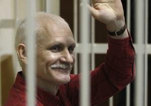 Держдеп США нагородив засудженого білоруського опозиціонера