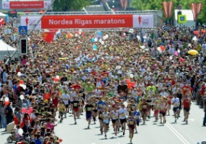 Нездоровое увлечение. Один человек умер и 16 госпитализированы во время Рижского марафона