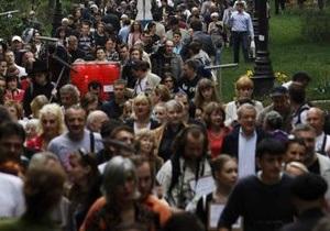 У Петербурзі відбулася опозиційна акція Контрольна прогулянка