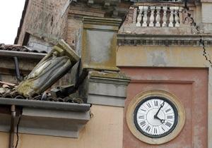 Землетрус в Італії завдав значної шкоди культурній спадщині країни