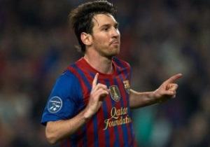 Лионель Месси установил очередной рекорд Лиги Чемпионов