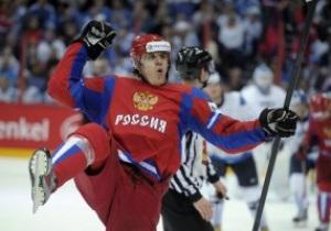 Россия уничтожила Финляндию в полуфинале ЧМ по хоккею