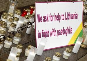 У Литві передача дочки  борця з педофілами  під опіку матері супроводжувалася сутичками з поліцією
