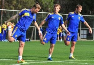 Сборная Украины начала подготовку к Евро-2012