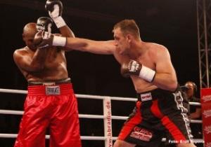 Итальянская надежда одолела дедушку бокса