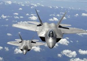 Пентагон обмежив дальність польотів винищувачів п ятого покоління