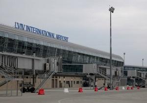Международный аэропорт Львов возобновил работу после реконструкции