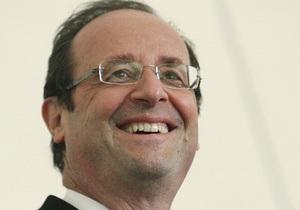 Олланд вступив на посаду президента Франції