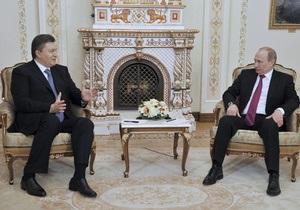 Сьогодні Янукович спробує вибити знижку на газ у Путіна. Ъ з ясував, що Україна пропонує РФ