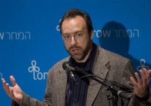 На Корреспондент.net почалася трансляція лекції засновника Wikipedia
