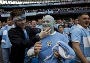 Фотогалерея: Голубые дали. МанСити в инфарктном стиле выиграл Чемпионат Англии