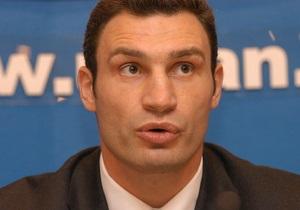Яценюк заявив, що Кличко відмовився від участі у виборах мера Києва