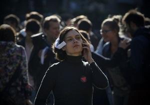 У Росії проходять опозиційні  народні гуляння