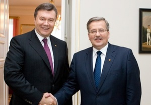 Офіційний Київ вдячний  справжньому другу України  Коморовському за підтримку
