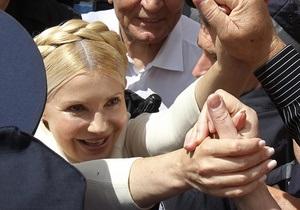 Ъ: Юлія Тимошенко скасувала саміт