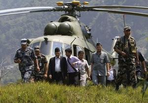 У Непалі тривають пошуки зниклих після обвалу в горах українських туристів