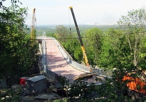 Я-Корреспондент: Репортаж з будівництва естакади до вертолітного майданчика Януковича