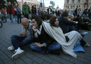 У Москві поліція розігнала ще одну акцію протесту