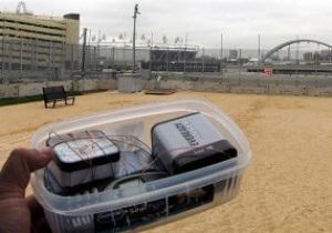 Без опасности. Журналисты пронесли бомбу в Олимпийский парк в Лондоне