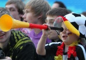 Табу на вувузели і парасольки. Оприлюднено перелік заборонених на стадіонах Євро-2012 речей